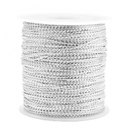 Trendy koord metalstyle wire 0.5mm Silver