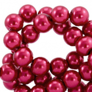 Top quality Glasparels 8mm Ruby wine red