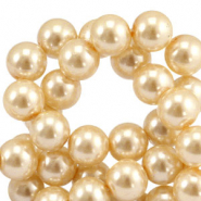 Top quality Glasparels 8mm Rich gold