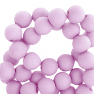 6 mm acryl kralen matt Orchid bloom lilac