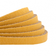 Plat 5 mm DQ leer Ochre yellow