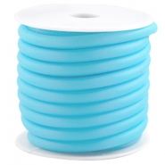 Rubber DQ draad 5 mm Licht blauw