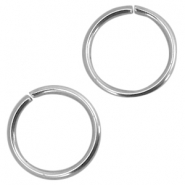 Roestvrij stalen (RVS) buigring stainless steel 4mm Zilver (RVS)
