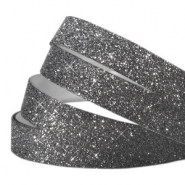 Crystal glitter tape 10mm Black