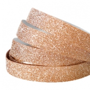 Crystal glitter tape 10mm Rosegold